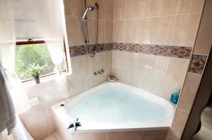 Luxurious spa bath